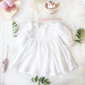 Rochita Botez Personalizata White Dream